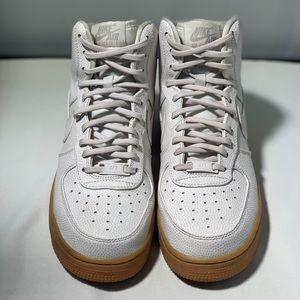 Cream Air Force 1s
